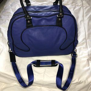 Faux Leather Lululemon duffle bag